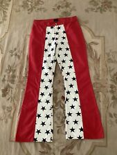 New listing Tommy Jeans Vintage Flare Jeans Flag Red White Blue Stars Stripes Juniors Sz 11
