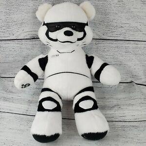 "Build A Bear Star Wars 18"" Storm Trooper The Force Awakens Stuffed Plush White"