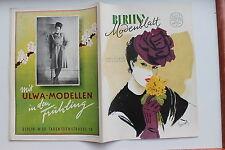 20612 BERLIN s Moden Blatt Heft 3 März 1946 von Chery K. Gessinger Kleider Mode