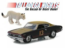1:64 GreenLight *HOLLYWOOD R15* TALLADEGA NIGHTS 1969 Chevelle w/LION *NIP*