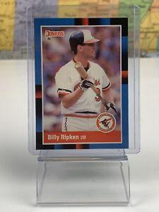 SHIPS SAME DAY 1988 Donruss Billy Ripken #336 Orioles Rookie Baseball Card