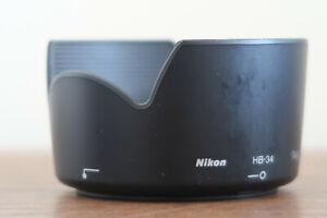 NIKON HB 34 LENS HOOD PETAL TYPE FOR NIKON AF-S 55-200MM F/4-5.6 G ED A CLASSIC