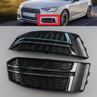 Links+Rechts Frontgitter Stoßstange Gitter Für Audi A4 B9 S-LINE 8W0807681F
