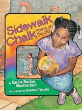 Sidewalk Chalk: Poems of the City-ExLibrary