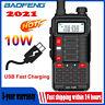 16W 2 WAY BAOFENG UV-10R WALKIE TALKIE VHF UHF DUAL BAND WATERPROOF HANDHELD AU