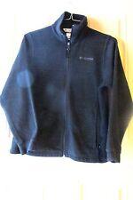 Columbia Sportswear Athletic Fleece Jacket Youth 14/16 Black