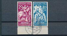 Frz. Zone Rh.-Pfalz Hilfswerk Ludwigsburg 1948 Michel 30-31 II geprüft (S11122)