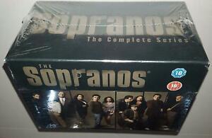 THE SOPRANOS COMPLETE SERIES SEASONS 1 2 3 4 5 & 6 BRAND NEW SEALED R2 DVD SET