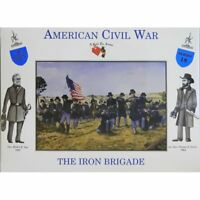 CALL TO ARMS CIVIL WAR UNION IRON BRIGADE 16 Unpainted Plastic Figures Series 18