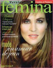 ▬► Version FEMINA - N°280 du 12 Août 2007 - Mathilde SEIGNER
