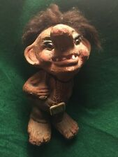 """AS Nyform Troll Art Doll #702 -7""""-MADE IN NORWAY Old And Dusty"""