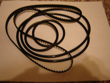 16MM EIKI RT- 0, RT Series Projector Belts,  5 Belt Set / 16mm Eiki RT Belt Kit