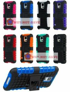 Premium Deluxe Hard ShockProof Rugged Impact Case Cover for Samsung Galaxy S5 SV