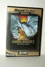 GABRIEL KNIGHT 3 GIOCO USATO OTTIMO STATO PC CD ROM VERSIONE ITALIANA GD1 47600