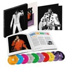 That's the Way It Is [Deluxe Edition] [CD/DVD] by Elvis Presley (CD, Aug-2014, 10 Discs, Sony Legacy)