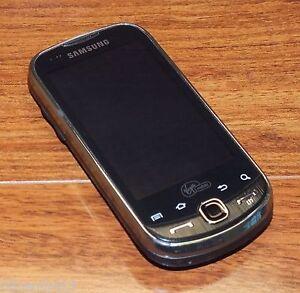 Samsung Intercept SPH-M910 - Steel Gray (Virgin Mobile) Smartphone ONLY