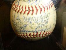 1967 Minnesota Twins team signed baseball Harmon Killebrew Rod Carew COA auto