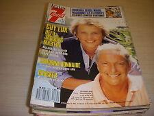 TELE 7 JOURS 1475 09.1988 Guy LUX DOUCHKA BONNAIRE LABRO Sophia LOREN MONDY