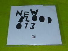 VARIOUS - NEW BLOOD 013 - MEDSCHOOLMUSIC  !!!!!!RARE CD PROMO!!!!!!!!!