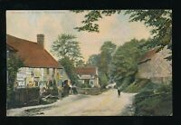 Warwicks Warwickshire HAMPTON-IN-ARDEN village scene c1900s PPC