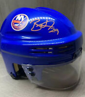 Brock Nelson #29 Signed New York Islanders Mini Hockey Helmet Fanatics Authentic