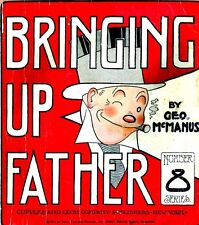 BRINGING UP FATHER DIGITAL COMIC STRIPS 1690+ ON CD