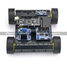 SainSmart Mega2560 R3 + 4WD Mobile Car + L298N + HC-SR04 Kit For Arduino Robot