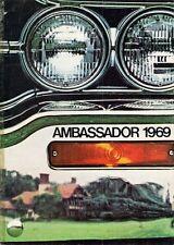 American Motors AMC Ambassador 1969 UK Market Sales Brochure DPL SST