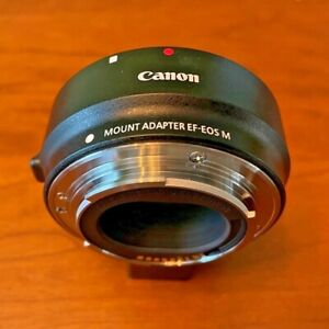 Genuine Canon EF- EOS M Mount Adapter for EF / EF-S Lenses