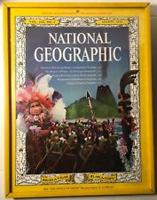 """Framed 13""""x10"""" National Geographic Jim Henson's Muppets Cover 1975 Kermit Piggy"""