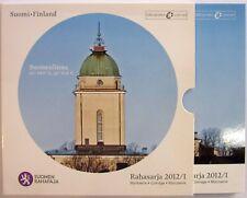 FINLANDE - Coffret BU - 8 pièces + jeton - 2012 Officiel