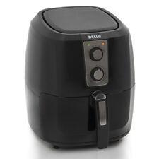Electric Air Fryer XL Button Guard No-Oil Low Fat Detachable Basket 5.8 QT Black