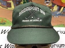 Bridgeport Inn Golf Course Country Club Prairie Du Chien Wi Vintage SnapBack Hat