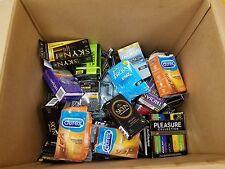 Wholesale Lot open box 330 condoms assorted brands (trojan-durex-lifestyles) m01