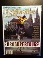 DC Shoes Super Tour Mike Carroll October 1998 Big Brother Skateboard Magazine