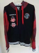 UNK NBA Toronto Raptors Zipped Front Premium Hoodie Sweatshirt Men Medium
