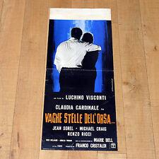 VAGHE STELLE DELL'ORSA locandina poster Visconti Cardinale Jean Sorel 1965 D39