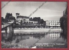 MILANO CASSANO D'ADDA 17 VILLA GABBIONETA E.N.A.L. LINIFICIO Cartolina viag 1957