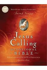 Jesus Calling Devotional Bible, NKJV : Enjoying Peace in His Presence (2011,...