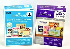 Hallmark Card Studio Deluxe 2017 & 2018 for Windows Version Computer Software