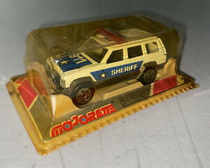 Vintage Majorette France 200 series Jeep Sheriff 1/60 Scale Model