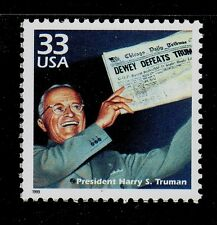 United States Scott# 3186d Mnh Harry S. Truman