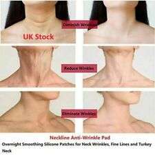 Anti Wrinkle Neck Lines Sagging medical elastine Lift tone Reusable 1 hour Patch