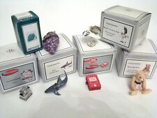 Midwest of Cannon Falls Hinged Boxes Lot of 6 but Missing Trinkets Shark & More