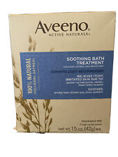 New listing Aveeno Soothing Bath Treatment with 100% Natural Colloidal Oatmeal for Treatment
