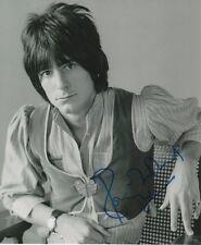 "Ron Wood ""Rolling Stones"" Autogramm signed 20x25 cm Bild s/w"