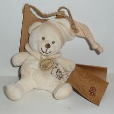 Doudou Ours Babynat Baby Nat' - Collection Bio