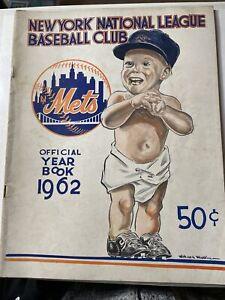 1962 New York Mets Yearbook