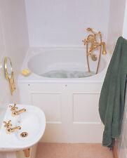 The Bekko Bath Compact Range Japanese Deep Soaking Tub FREE 7 Colour Light Kit