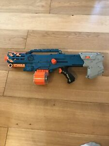 Nerf N-Strike Z Dart Gun Blaster Teal Orange Barrel